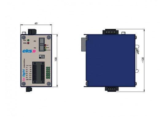 Šviesolaidinė sistema IOL-3000