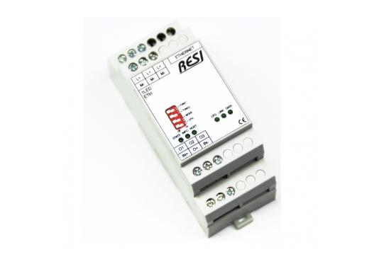 Modbus TCP LED juostų valdiklis RESI-1LED-ETH