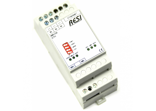 MBus - Modbus/TCP keitiklis RESI-MBUS-ETH
