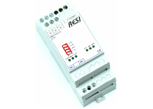 MBus - Ethernet keitiklis RESI-MBUSLVL-ETH