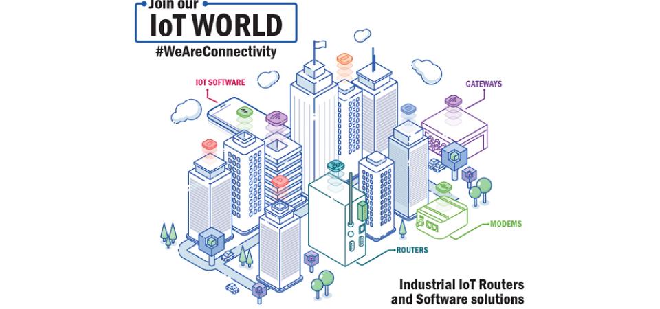 IoT sujungia smart įrangą