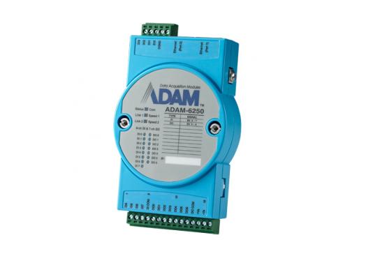 15 x I/O Modbus TCP modulis ADAM-6250