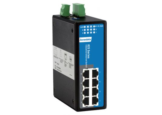 Valdomas 8-ių prievadų pramoninis Ethernet komutatorius IES618