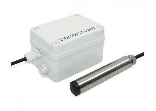 Didelio tikslumo slėgio, skysčio lygio ir temperatūros LoRaWAN sensorius DL-PR36