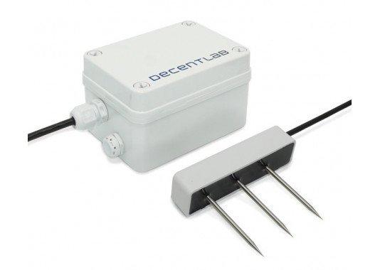 Dirvožemio drėgmės, temperatūros ir elektrinio laidumo LoRaWAN sensorius DL-TRS12