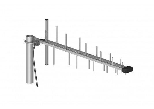 Kryptinė GSM/DSC/UMTS/HSDPA antena